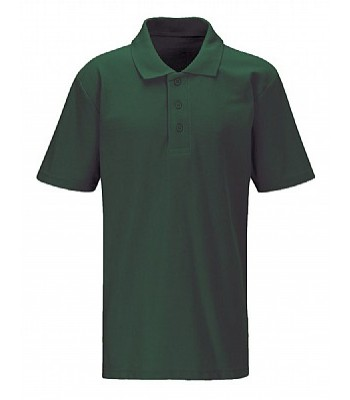 St John Polo with your school logo - Bottle