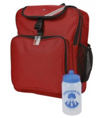 Easington Junior Backpack with logo
