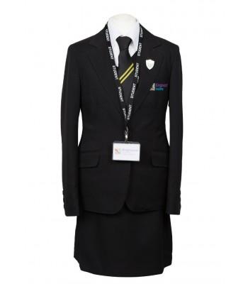 Kingswood Academy Girls Jacket with School logo