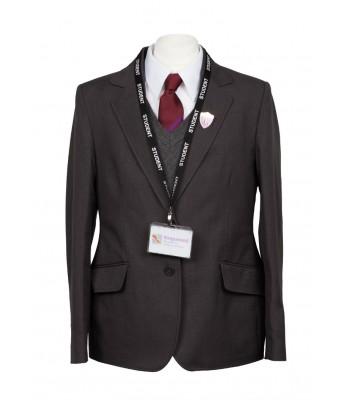 Kingswood Academy Grey Girls Jacket