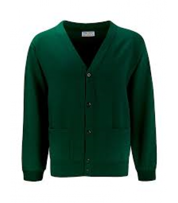 Bellfield Cardigan with your school logo