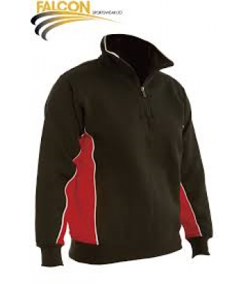 Cottingham High Panelled 1/4 Zip Top with School Logo