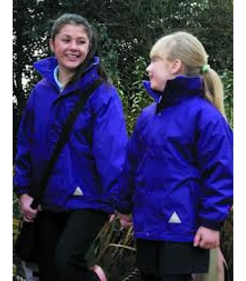 Willerby Carr Lane Storm Coat with your school logo