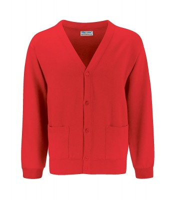 Inmans Cardigan with your school logo