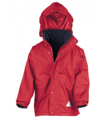 Inmans Storm Coat with your school logo