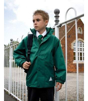 Bellfield Storm Coat with your school logo