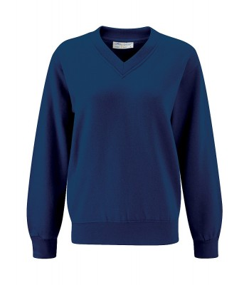 Newland St Johns Sweatshirt in Navy (with your school logo)