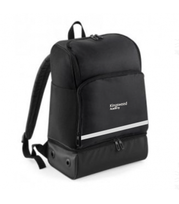 Kingswood Academy Rucksack (with school reflective logo and reflective strip)