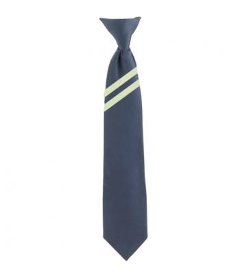 Kingswood Academy Navy Tie with School Stripe