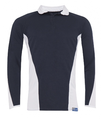 Kingswood Academy Navy Rugby Top (No Logo) (YEAR 7 & YEAR 8  for Sept 2021/2022 ONLY)