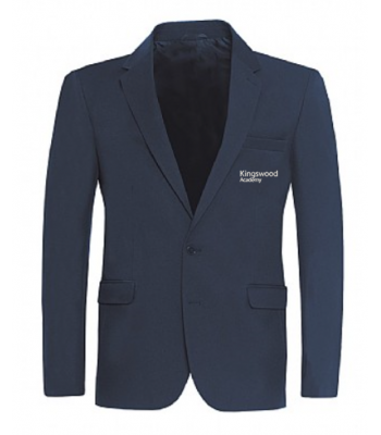 Kingswood Academy Navy Boys Jacket (with school logo) (YEAR 7 & YEAR 8  for Sept 2021/2022 ONLY)