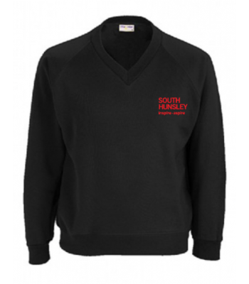South Hunsley Black Sweatshirt (with your school logo)