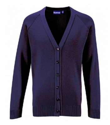St Mary's Cardigan with your school badge