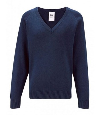 St Mary's V-Neck knitted Jumper with your school badge