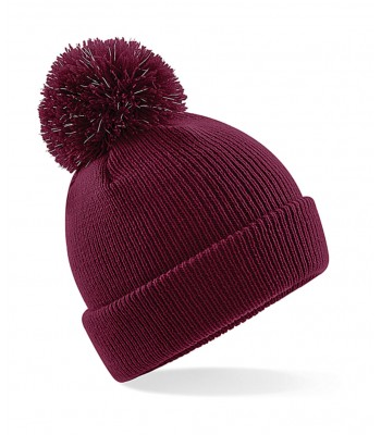 Reflective School Bobble Beanie (Multiple Colours)