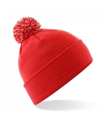 School Snowstar Bobble Hat (Multiple Colours)
