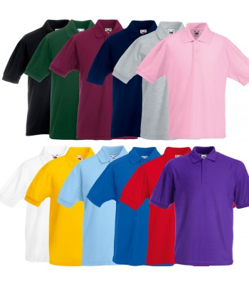 Plain Polo Shirt (Multiple Colours)
