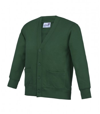 St Vincent's Cardigan (with your emb school logo)
