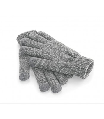 Touchscreen Smart Grey Gloves