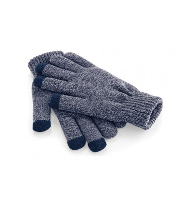 Touchscreen Smart Navy Gloves
