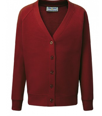 St Charles Cardigan (with your emb school logo)