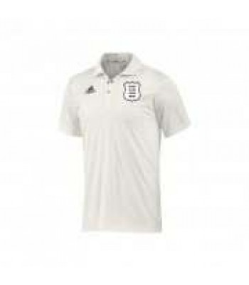 Cherry Burton Cricket Club Playing SS Shirt with sponsor logo