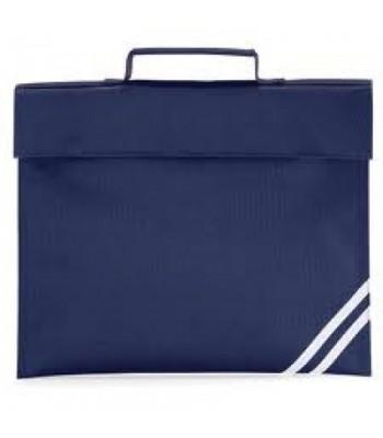 Brough Book Bag in Navy