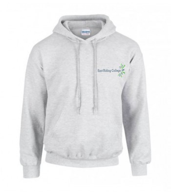 East Riding College Early Years Hoodie (with college full col. logo and navy print to rear)