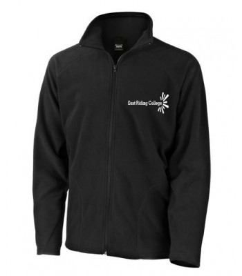 East Riding College Black Fleece (with white college logo)