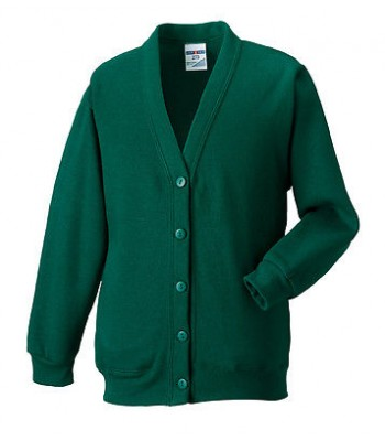 The Greenway Academy Cardigan (with your school logo)