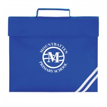Mountbatten Primary Bookbag (with your white printed school badge)