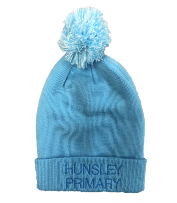 Hunsley Primary Bobble Hat (with your school logo)