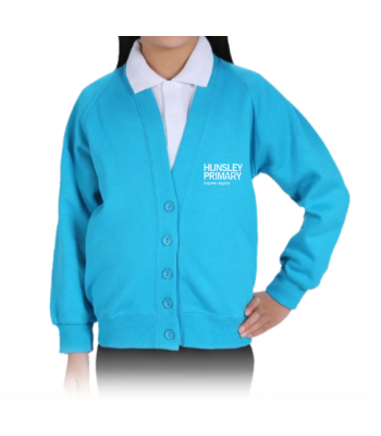 Hunsley Primary Cardigan (with your school logo)
