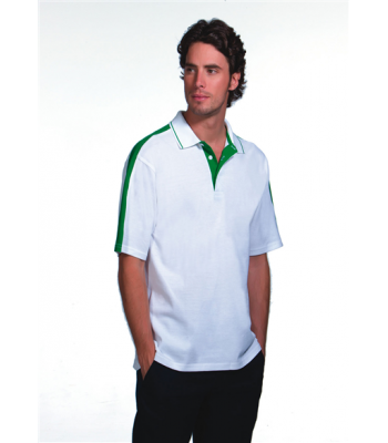 Francis Scaife Toffs Adult Performance Polo with club logo