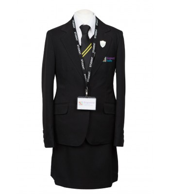 Kingswood Academy Girls Jacket with School logo