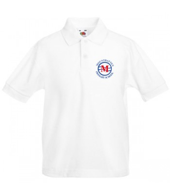 Mountbatten  Primary Polo Shirt (with your school badge)