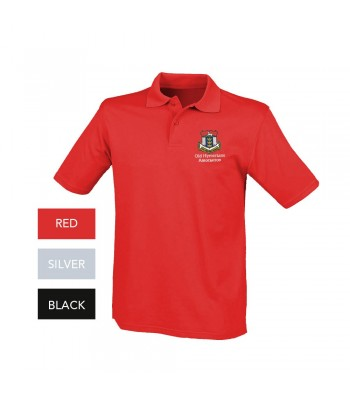 Old Hymerians Male Polo (with embroidered logo)