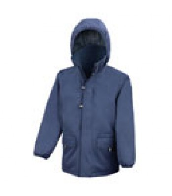 Swanland Storm Coat with your school logo