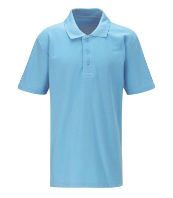 Ron Dearing Polo T-Shirt Sky