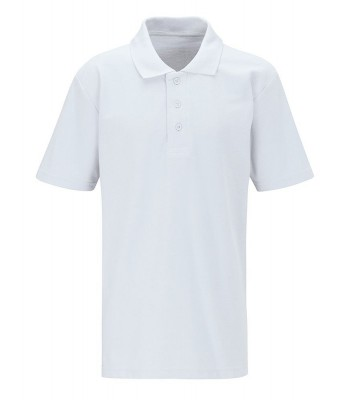 Ron Dearing Polo T-Shirt White