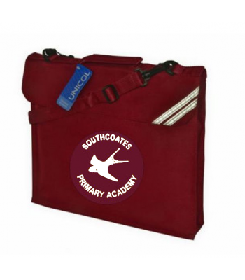 Southcoates Dispatch Bag (with your white print school logo)
