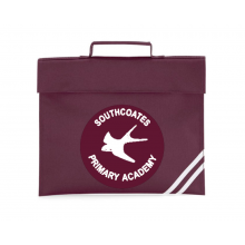 Southcoates Bookbag (with your white print school logo)