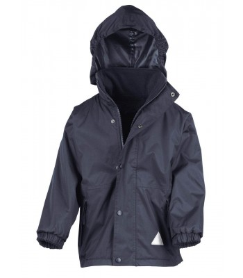 Thoresby Storm Coat (with your school logo)