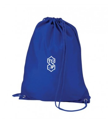 Thorngumbald Gym Bag (with your printed school logo)