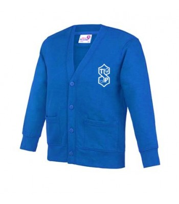 Thorngumbald Cardigan (with your school logo)