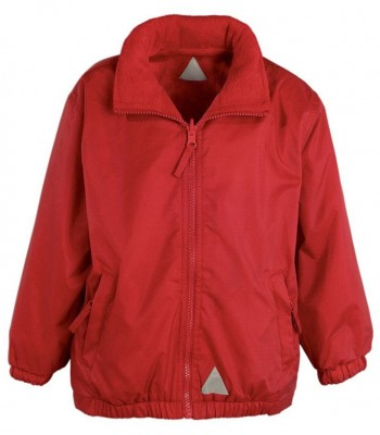 Brandesburton Red Minstral Jacket (with your school logo)