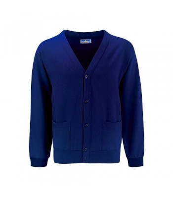 Victoria Dock Cardigan (with your school logo)