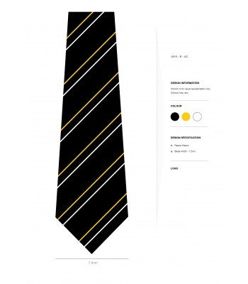 Marvell College clip on Tie