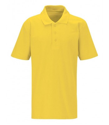 Hutton Cranswick Polo T Shirt with School logo
