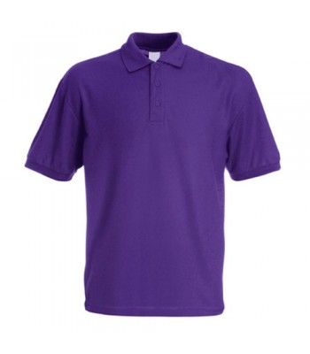 Hedon Polo Shirt in purple (ambassador only) with your school logo